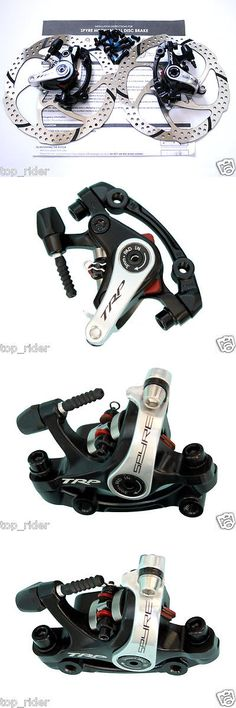 Brakes 177808: Trp Spyre Alloy Mechancial Disc Brake Set Dual Side Actuation Fandr W Rotor Pair -> BUY IT NOW ONLY: $117.89 on eBay!