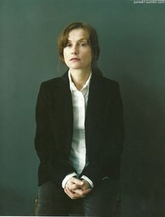 Isabelle Huppert-french goddess. Simply one of my faves and the best