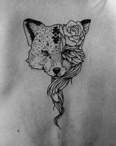 Fox Tattoo Design~