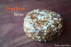 Homemade Nakd gingerbread bar recipe