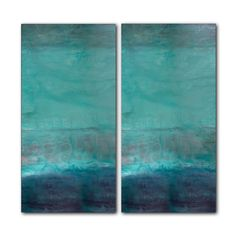 Ready2hangart 'Abstract Spa' by Alexis Bueno 2 Piece Graphic Art on Wrapped Canvas Set