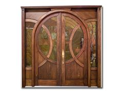 Old World Solid Wood Arch Entry with Raised Panel Grand Entrance, Entrance Doors, Doorway, Barn Doors, Cool Doors, Unique Doors, Eclectic Front Doors, Exterior Doors, Interior And Exterior