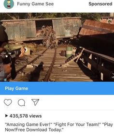 Mobile game uses footage from Days Gone trailer as promo