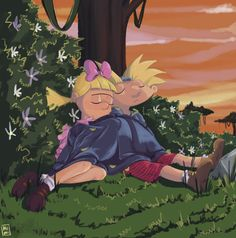 hey arnold the jungle movie Hey Arnold, 90s Cartoons, Animated Cartoons, Arnold And Helga, Danny Phantom, Cartoon Shows, Manga, Cartoon Network, Aurora Sleeping Beauty