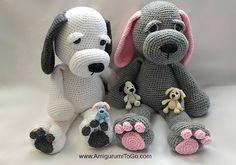 Ravelry: Cuddle Me Puppy pattern by Sharon Ojala