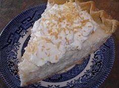 Sugar-Free Coconut Cream Pie (Diabetic) #justapinchrecipes