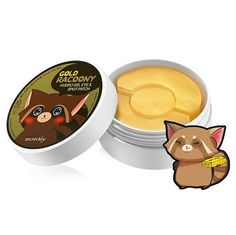 Gold Racoony Hydro Gel Eye  & Spot Patch Parches Anti Ojeras
