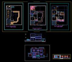 Projet de villa en dwg | Génie civil et Travaux Publics Engineering