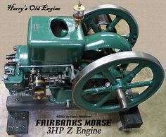"Fairbanks Morse 3 H.P. ""Z"" Kerosene Engine"