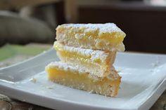 Sweet Frosting: Lemon Bars