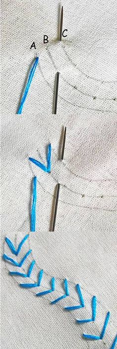 arrow head stitch