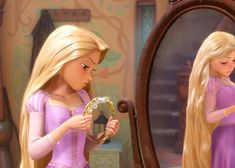 grafika book, disney, and rapunzel