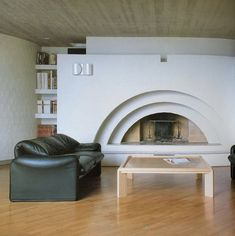 Casa a Massagno, Mario Botta Home Interior, Interior Architecture, Interior And Exterior, Exterior Design, Mario Botta, Live In Style, Modern Fireplace, Vintage Interiors, Dream Decor