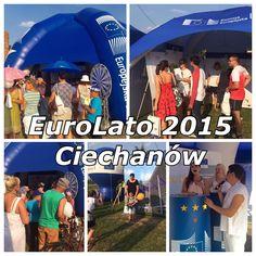 #EuroLato2015 - wczoraj #Ciechanow, dzis #Plock i znów będzie gorąco. Dziękujemy tym, którzy odwiedzili nas w sobotę! :) #UE #Wakacje #EuroLato #EuroLato2015 #impreza #LatozRadiem #KomisjaEuropejska #EuropejskiRokNaRzeczRozwoju #Rozwój #lato #summer #party