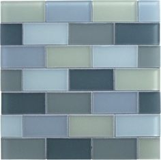 Love Glass subway tile