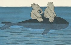 babar and whale. This is making me very happy