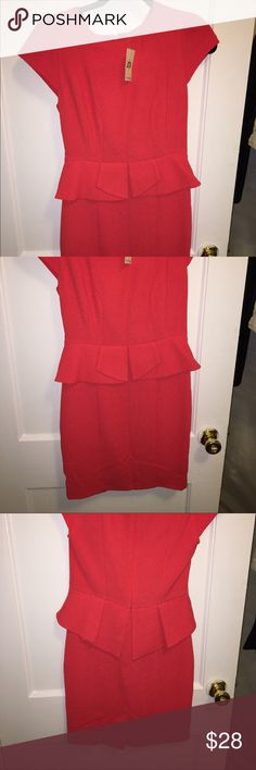 New Red Miss Selfridge Dress New with tags. Red mini dress miss selfridge  Dresses Mini