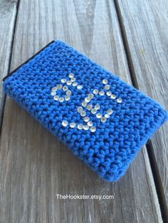 Hanukkah Gift, Chanukkah phone case with Oy Vey in blue, All sizes, Hanukkah phone cover, Crochet phone cover, Judaica phone case. #P009 by TheHookster on Etsy