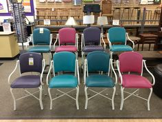THINK SPRING & SAVE 20% AT NEW USES: All Yellow Tag Merchandise is now on sale dropping the 4 Chairs to only $108 & the Bar Stools to $156!