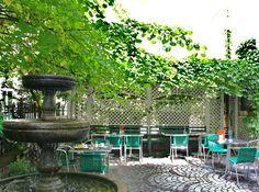 Geheimtipp gleich um die Ecke der Mahü: Café Tobman in der Zieglergasse 13