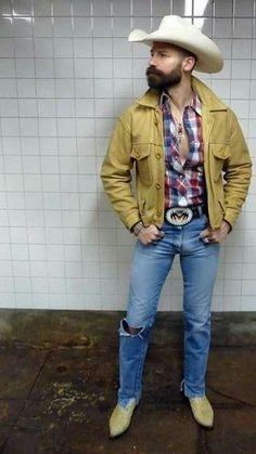 Urban Cowboy, Cowboy Up, Cowboy Boot, Scruffy Men, Hairy Men, Men In Tight Pants, Cowboys Men, Rodeo Cowboys, Hot Country Boys