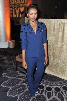 Kat Graham = proof a suit can be sexy.