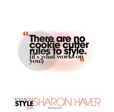 #styleword   http://www.focusonstyle.com  #quote #affirmation #motivation