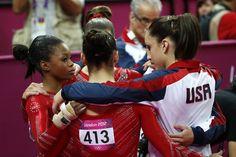 The U.S. women's golden night - Gymnastics Slideshows | NBC Olympics