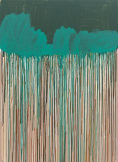 Henriette Grahnert, Paintfall, 2013, Acryl auf Leinwand