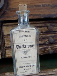 Medical Apothecary Bottle