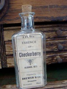 Antique Medical Apothecary Bottle. $16.95, via Etsy.
