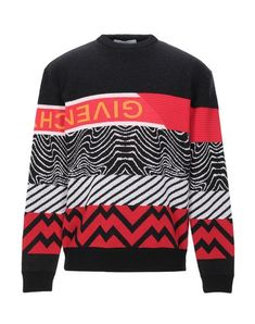 Knitted Logo Multicolor pattern Round collar Medium-weight sweater Long sleeves No pockets Large sized Givenchy Man, Sweat Shirt, Long Sleeve Sweater, Men Sweater, Designer Jackets For Men, Mens Jumpers, Pullover, Pulls, Fantasy