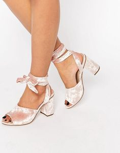Pin for Later: This New Summer Shoe Is the Elevated Version of Your Old Jelly Slides  Asos HITCH A RIDE Lace-Up Mules ($73)