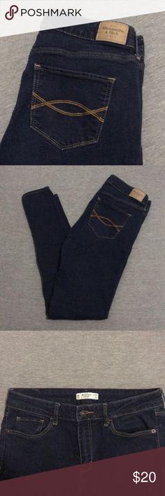 Abercrombie & Fitch dark wash jeans Abercrombie & Fitch dark wash jeans Abercrombie & Fitch Jeans Skinny