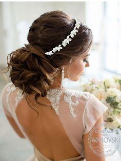 Tiara Swarovski Romantic Bride M581