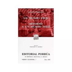 Libro Un Mundo Feliz - $ 70.00