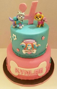 Sweet Baby J's | Girly Paw Patrol cake