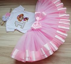 Paw Patrol Skye Birthday Girl tutu outfit, Skye birthday party tutu set, Personalized Birthday Skye Paw Patrol Shirt Tutu and Headband. Paw Patrol Birthday Girl, Baby Girl 1st Birthday, 1st Birthday Outfits, Minnie Birthday, Birthday Tutu, Jojo Siwa Birthday, Different Shades Of Pink, Tutu Outfits, Tutus For Girls