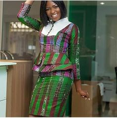 modern african fashion looks trendy 25325 African Dresses For Women, African Print Dresses, African Attire, African Wear, African Fashion Dresses, African Women, African Prints, African American Fashion, African Print Fashion