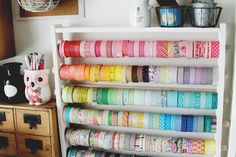 Blog: Workspace Wednesday | Washi Tape - Scrapbooking Kits, Paper & Supplies, Ideas & More at StudioCalico.com!