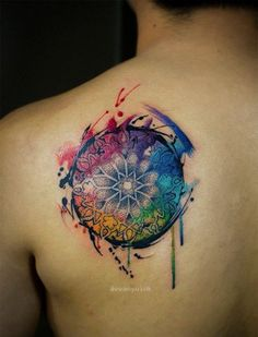 water color tattoo designs (127)