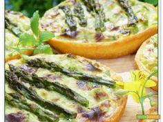 TORTINE AGLI ASPARAGI #ricette #food #recipes