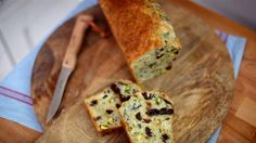 Cheese, pistachio and prune cake - rachel khoo recipe on savory picnic bread