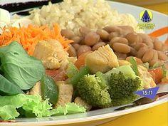 Santa Receita | Alimentação saudável: aprenda a montar marmitas! - 24 de Setembro de 2014 - YouTube