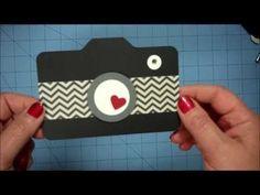 Camera Card & Matching Envelope - YouTube