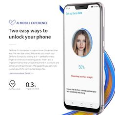 【Global Version】ASUS Zenfone 5 ZE620KL 4G Smartphone Notch 6.2 Inches 4GB+64GB - US$394.99 Sales Online blue eu - Tomtop Asus Zenfone, Smartphone, Self