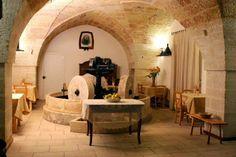 Olive oil tasting place