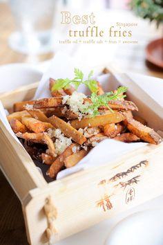 Best Truffle Fries in Singapore