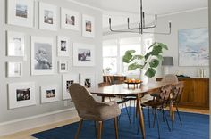 Cozy Up Your Dining Room with Rugs   Trend Center by Rugs Direct   Photo: Emily Henderson