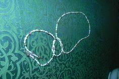 Collana  perle di fiume da annodare